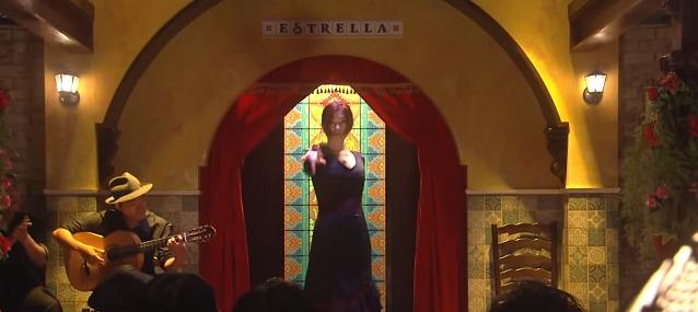 ロケ地 スペインバル 場所 フラメンコ 踊れる
